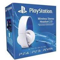 Wireless Stereo Headset (White) (PS4)
