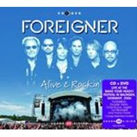 Foreigner - Alive & Rockin (Live at The Bang Your Head Festival/Live Recording/CD+DVD)