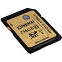 Kingston 256GB Class 10 UHS-1 Ultimate Flash Memory Card