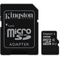 Kingston 16 GB SDHC Class 10 UHS-I Micro SD Card with Adapter