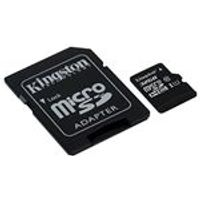 Kingston 32 GB MicroSD SDHC Card Class 10 UHS-I with SD Adapter