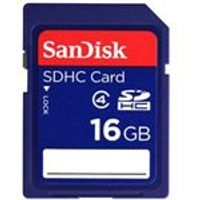 SanDisk 16GB Class 4 Secure Digital High Capacity Card SDHC