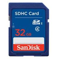 Sandisk 32GB Secure Digital SD Card (SDHC)