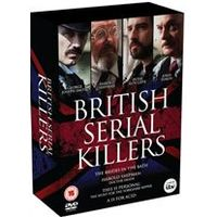 Britains Serial Killers Box Set: A Is For Acid / Harold Shipman Dr Death / Brides In The Bath