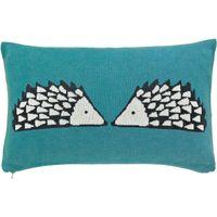 Scion Bedding  Spike Cushion  Kingfisher