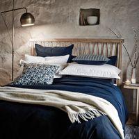 Murmur Bedding  Still Plain Navy Bed Linen