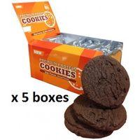 Premium Protein Cookies x 5 Boxes (60 Cookies)