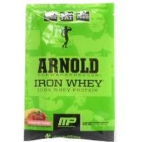Arnold Schwarzenegger Series Iron Whey Sample - Strawberry