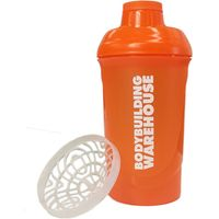 Screw Top Protein Shaker Bottle - 600ml