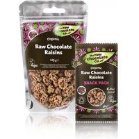 Raw Chocolate Company Raw Chocolate Raisins BB Jan 2016