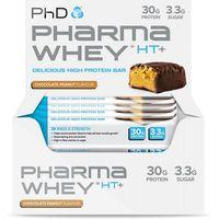 PHD Pharma Whey HT Bars x 12