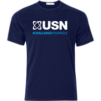 USN Challenge Yourself T-Shirt - Navy Blue