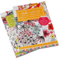 Pack of 2 Colouring Books