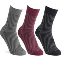 Cosyfeet Mens Cotton-rich Patterned Socks
