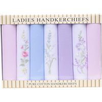 Embroidered and Plain Handkerchiefs
