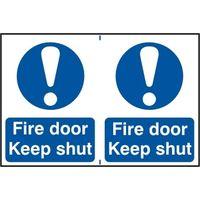 Notice Fire Door Keep Shut