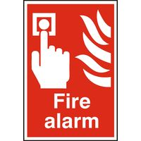 Notice Fire Alarm (Push Button)
