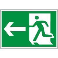 Notice Running Man Arrow Left (Symbol)