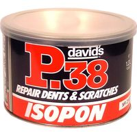 2 Part Metal Body Filler 250ml Tin