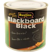 Quick Dry Black Board Paint 250ml