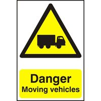 Notice Danger Moving Vehicles