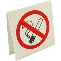 No Smoking Desk Notice 50x50mm