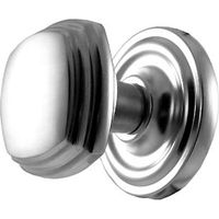 Matt Chrome Square Interior Door Knobs