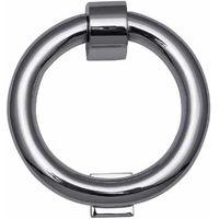 Bright Chrome Ring Knocker 107mm