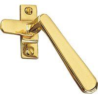 Art Deco Design Window Handle Fastener Hook Right Handed