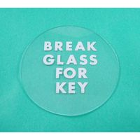 Replacement Glass for Fire Door Key Box