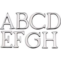Heritage C1565 Chrome Door Letters A-Z 51mm