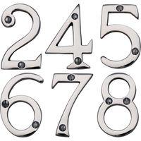 Heritage C1560 Chrome Door Numerals 0-9 76mm