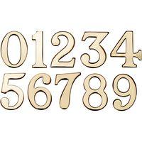 Heritage C1568 Brass Stick On Door Numerals 0-9 51mm