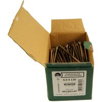 Classic Yellow Passivated CSK Woodscrews Boxed