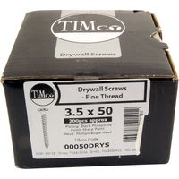 Boxed Twin-Thread Black Drywall Screws