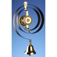 Mechanical Brass Butlers Bell 62500