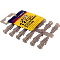 Plasterboard Fixings Pack of 12
