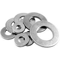 Pack of 10 Heavy Steel Washers ZP