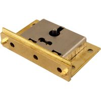 Brass Box Lock 51mm
