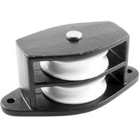 Black Double Side Pulley 1.5in