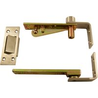 Double Action Pivot Hinge Set with an Emergency Coin Release Catch
