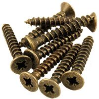 Packet of Bronze Screws for Hinges 1.1/4*10