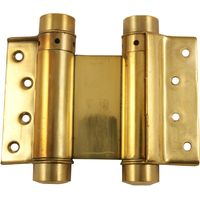 2 Way Action Spring Hinges Brass In Pairs
