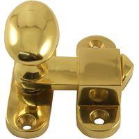 Brass Turn Bar Catch