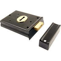 Black Rim Deadlock 100x76mm