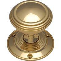 Heritage GOO986 Brass Goodrich Interior Door Knobs
