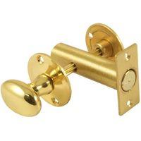 Solid Brass Toilet Door Bolt