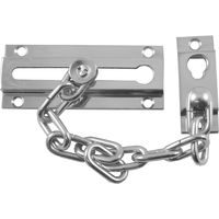 Polished Chrome Door Security Chain