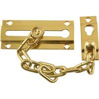 Brass Door Security Chain
