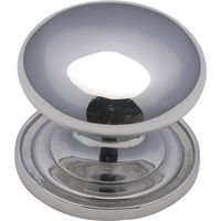 Heritage C2240 Chrome Round Kitchen Cabinet Knob